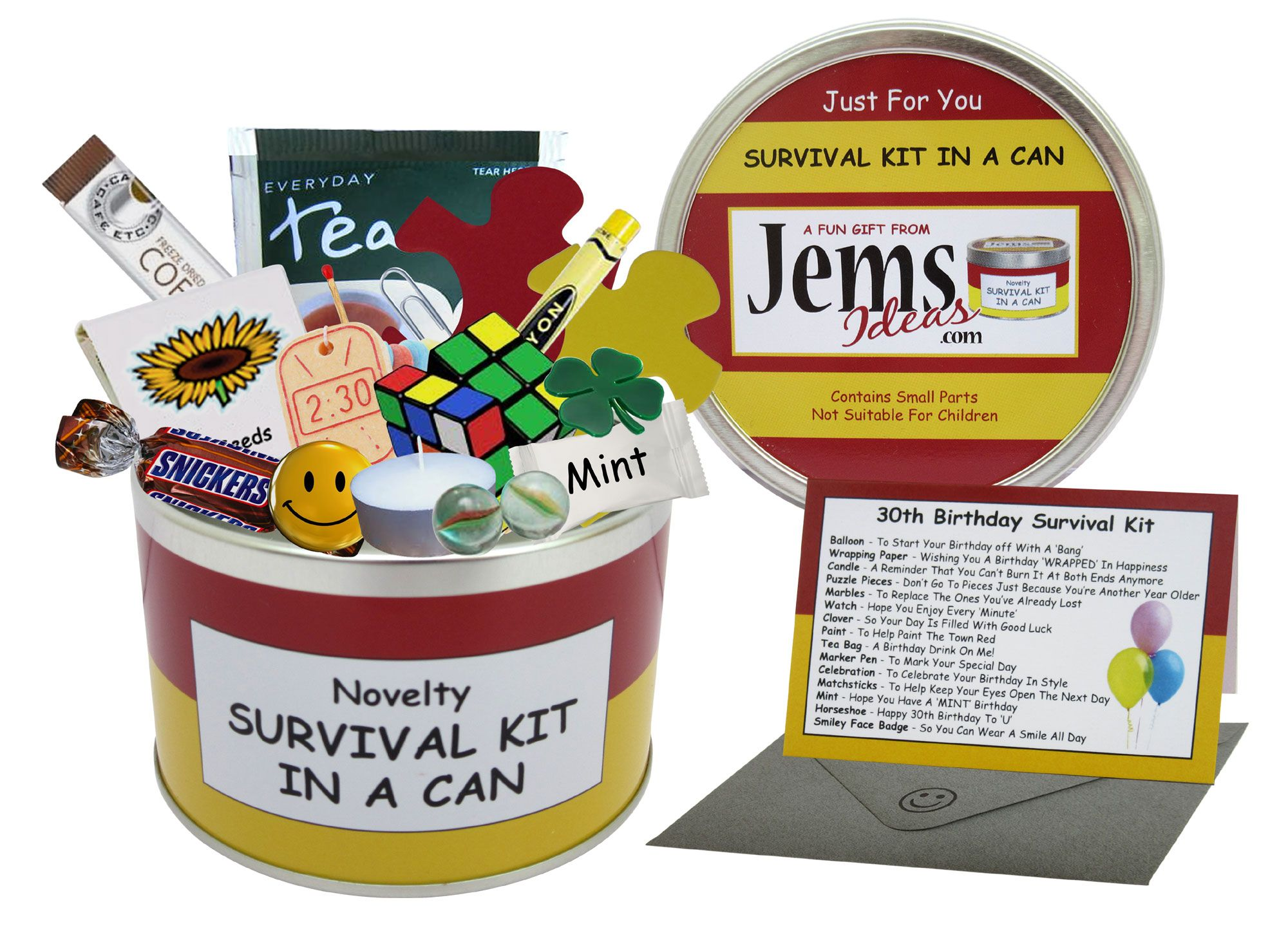 30th Birthday Survival Kit In A Can