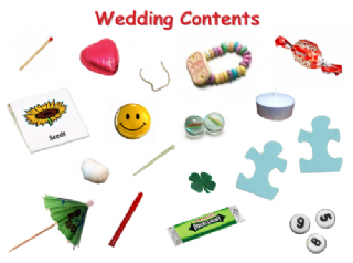 Wedding Day Snapable Wishbone Gift /& Card Special Bride /& Groom Present